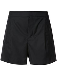 Vince Tailored Shorts Women Cotton 6 Black