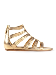 Car Shoe Gladiator Sandal Metallic