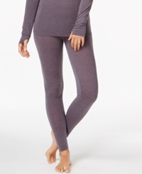 Cuddl Duds Active Layer Leggings Shadow Heather
