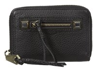 Rebecca Minkoff Mini Regan Zip Wallet Black Wallet Handbags
