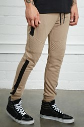 Forever 21 Colorblock Quilted Sweatpants