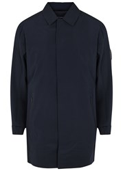 Nn.07 Owen Ripstop Gilet And Shell Jacket Navy