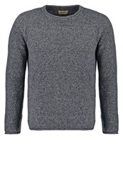 Nudie Jeans Vladimir Jumper Grey Mottled Grey