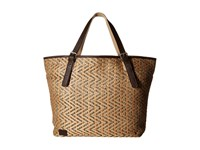 Toms Straw Tote Natural Tote Handbags Beige