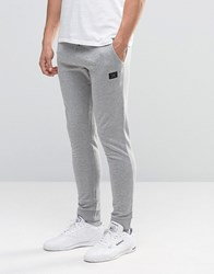 Jack And Jones Sweat Joggers With Branding Light Grey Marl