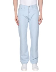Guess By Marciano Casual Pants Sky Blue