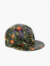 White Mountaineering Floral Baseball Cap Green