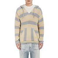 Outerknown Men's Striped Hooded Poncho No Color