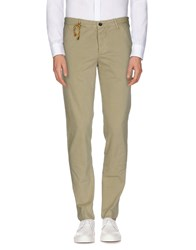 Shaft Trousers Casual Trousers Men Light Green