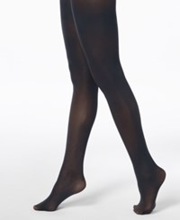 Inc International Concepts I.N.C. Matte Opaque Tights Navy