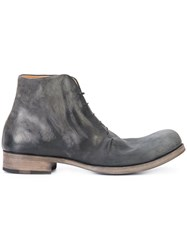 Ma Distressed Ankle Boots Black