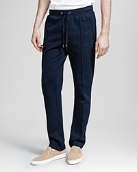 The Kooples Lighter Classic Fleece Sweatpants Navy