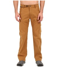 Prana Stretch Zion Pant Dark Ginger Men's Casual Pants Tan