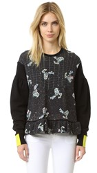 Preen Aspen Sweatshirt Black Constellation