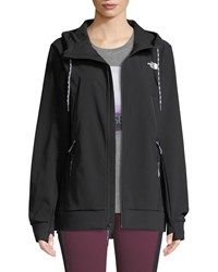 The North Face Tekno Zip Front Activewear Hoodie Black