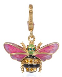 Muriel Bee Charm Jay Strongwater Multi Colors