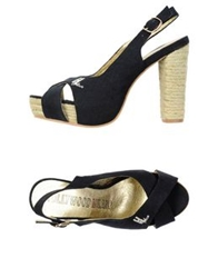 Hollywood Milano Espadrilles Black