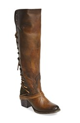 Freebird Women's By Steven 'Coal' Tall Leather Boot Olive