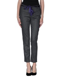 Flavio Castellani Trousers Casual Trousers Women Grey