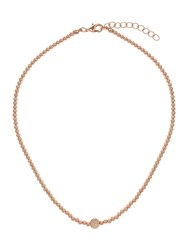 Mikey Cubic Crystal Ball Elastic Necklace
