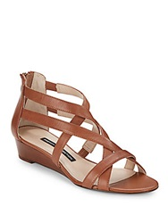 French Connection Winton Leather Wedges