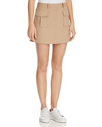 Theory Lupah Mini Skirt Palomino