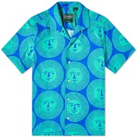 Gitman Brothers Vintage Camp Collar Here Comes The Sun Shirt