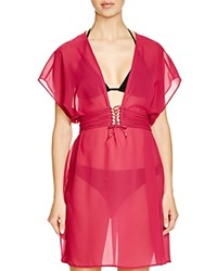 Gottex Jezebel Beach Dress Swim Cover Up Wine