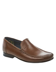 Ted Baker Simeen 2 Leather Moccasins Brown Leather