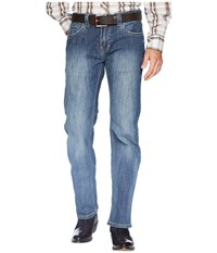 Rock And Roll Cowboy Pistol Bootcut Denim With Stitches In Dark Wash M1p6610 Dark Wash Jeans Navy