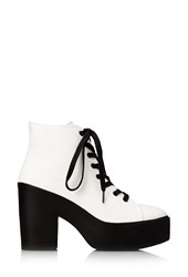 Forever 21 Standout Canvas Booties