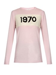 Bella Freud 1970 Cashmere Sweater Light Pink