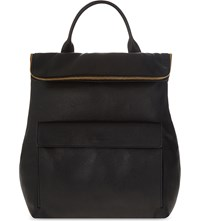 Whistles Verity Leather Backpack Black