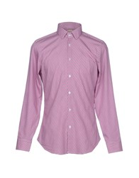 Michael Coal Shirts Fuchsia