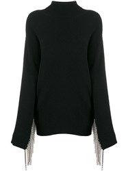 Christopher Kane Cashmere Embellished Sleeve Jumper 60