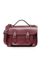 The Cambridge Satchel Company Mini Oxblood