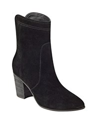 Ivanka Trump Lory Suede Boots Black