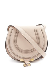 Chloe Marcie Small Leather Cross Body Bag Light Pink