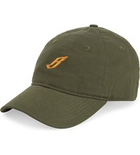 Billionaire Boys Club Flying B Cotton Cap Olive