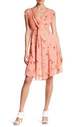 Eva Franco Martin Twisted Front Dress Pink