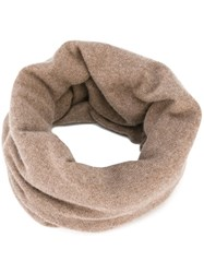 Helmut Lang Circle Scarf Nude Neutrals