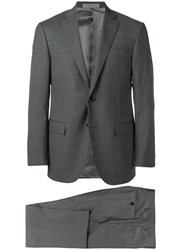Corneliani Two Piece Tailored Suit Grey