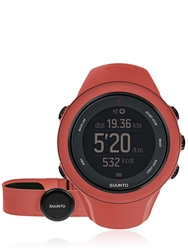 Suunto Ambit3 Hr Digital Running Watch Red Coral