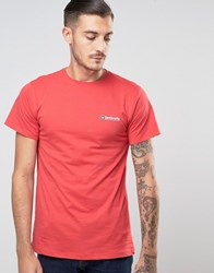 Lambretta Core Logo T Shirt Red