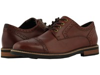 Nunn Bush Overland Cap Toe Oxford With Kore Walking Comfort Technology Rust Lace Up Cap Toe Shoes Red