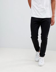 Bershka Skinny Jeans In Black