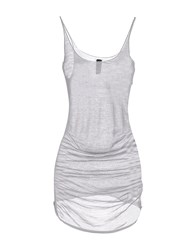 Gotha Topwear Tops Women Light Grey