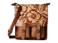 Patricia Nash Armeno Messenger Tan Cross Body Handbags