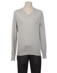 Fenchurch V Necks Light Grey