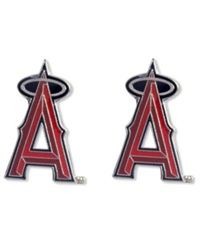 Aminco Los Angeles Angels Of Anaheim Logo Post Earrings Team Color
